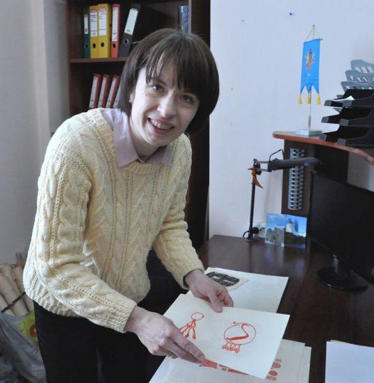 Юлия Игоревна Мошник, куратор выставки