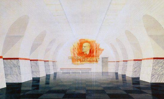 """Станция """"Фрунзенская"""". Проект"""