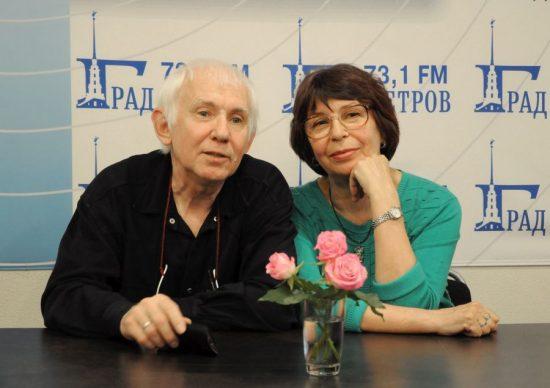 Ольга Исаковская и Георгий Корольчук