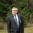 Анатолий Разумов на Левашовском мемориальном кладбище. Фото: Илья Алешин