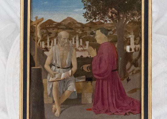 Святой Иероним с донатором