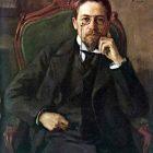10 О.Браз. Портрет А.П.Чехова, 1898