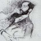 14 И.Репин. Портрет Д.С.Мережковского 1900_