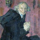 21 Н.Ульянов. Портрет В.И.Иванова, 1920