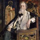 57_1_М.Нестеров. Портрет В.Васнецова, 1925