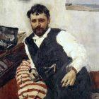 60_1_В.Серов. Портрет К.Коровина, 1891