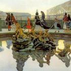 61_2_А.Бенуа. Версаль. Прогулка короля, 1906