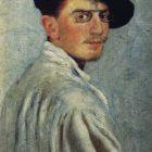 62_1_Л.Бакст. Автопортрет, 1893