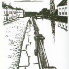64_2_М.Добужинский. Иллюстрация к повести Белые ночи, 1923