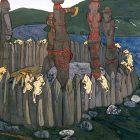 65_2_Н.Рерих. Идолы, 1901