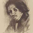 66_1_Л.Бакст. Портрет Ф.Малявина, 1899