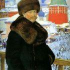 69_1_Б.Кустодиев. Автопортрет, 1912