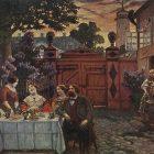 69_3_Б.Кустодиев. Чаепитие, 1913