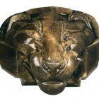 105_М.Врубель.Голова льва, 1892