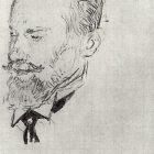 34_Б.Кустодиев. Портрет В.Немировича-Данченко, 1915
