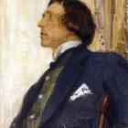 36_И.Репин. Портрет Н.Евреинова, 1915