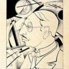 42_С.Чехонин. Портрет И.Стравинского, 1923