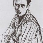 53_В.Серов. Портрет М.Фокина, 1909