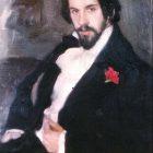 73_1_Б.Кустодиев. Портрет И.Билибина, 1901