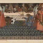 73_2_И.Билибин. Сказка о царе Салтане, 1905