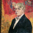 74_1_А.Головин. Автопортрет, 1919