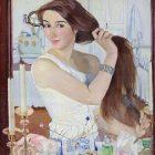 77_1_З.Серебрякова_Автопортрет, 1909