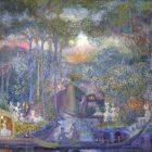 80_2_С.Судейкин.Прогулка маркизы на острове любви,1907-09