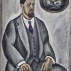 83_1_П.Кончаловский. Автопортрет в сером,1911