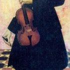 90_А.Яковлев. Скрипач,1915