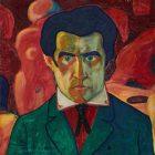 93 Малевич Автопортрет 1910