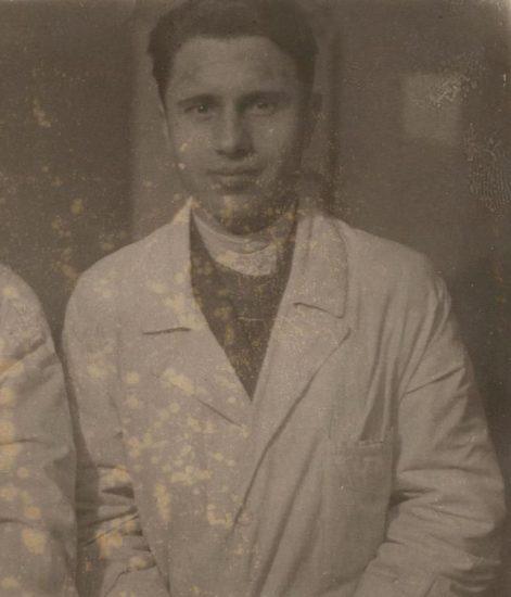 А.М. Пантюхов на прииске Ат Урях. Фото из переданной в музей коллекции. Фрагмент